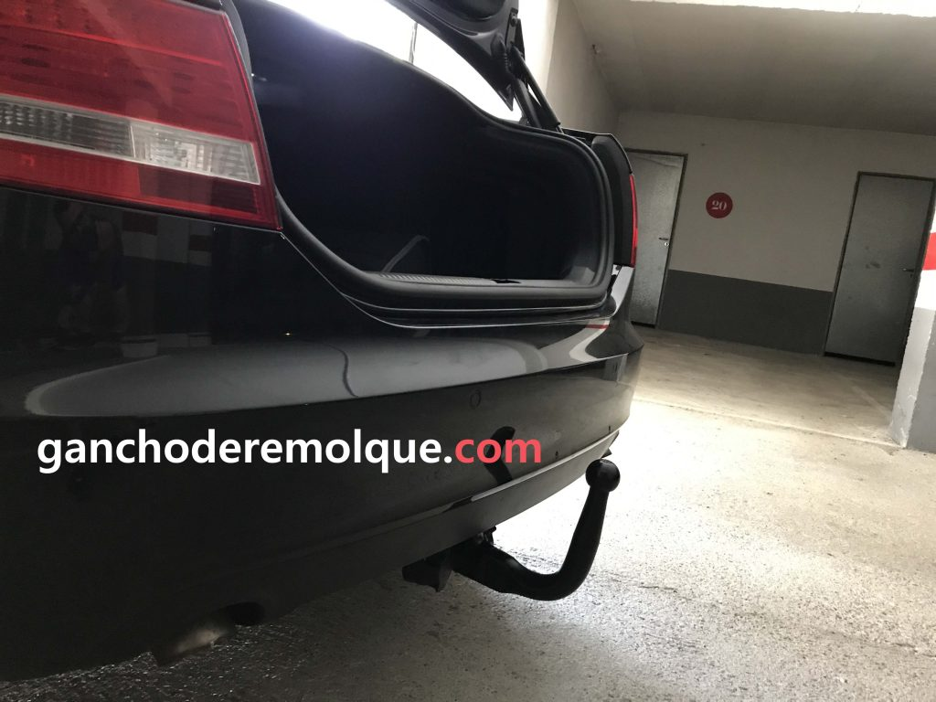 Audi A6 enganche extraible vertical invisible 1