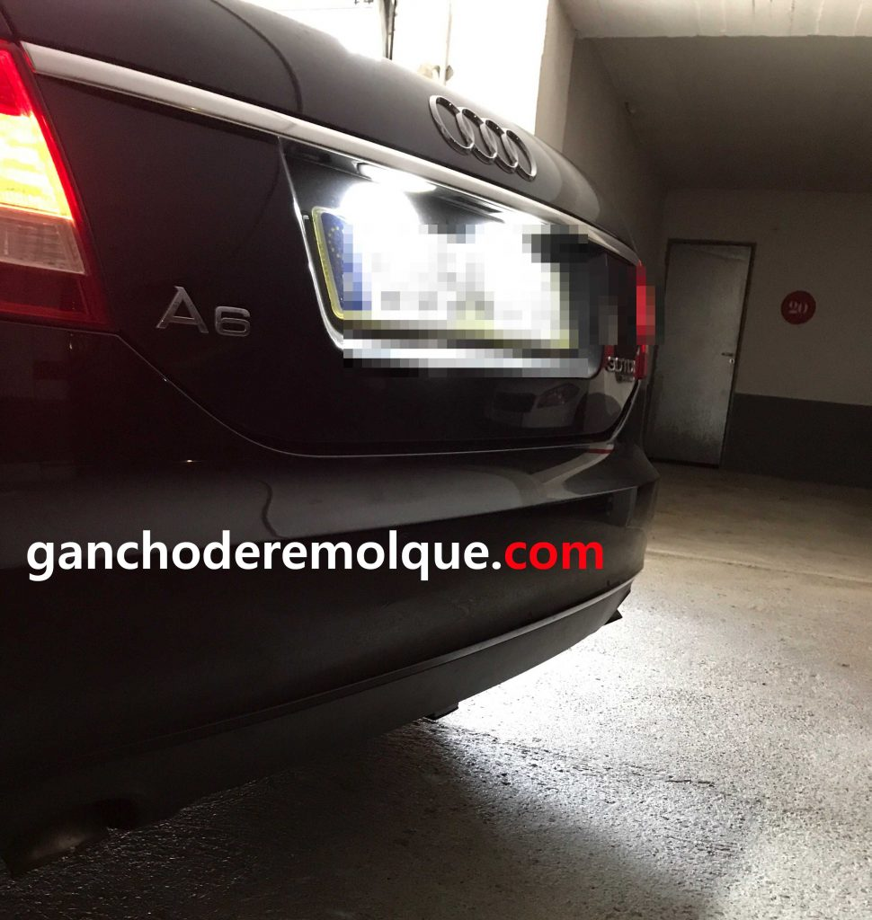Audi A6 enganche extraible vertical invisible 3