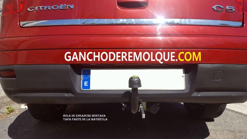 ENGANCHE BOLA DE REMOLQUE CITROIEN C5 EXTRAIBLE HORIZONTAL 1