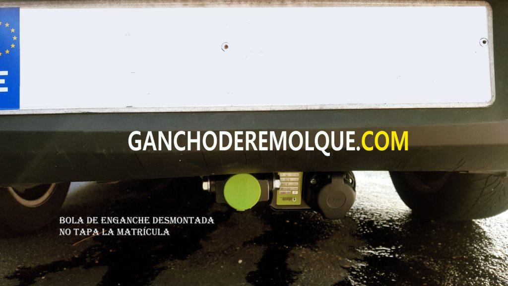 ENGANCHE BOLA DE REMOLQUE CITROIEN C5 EXTRAIBLE HORIZONTAL 2