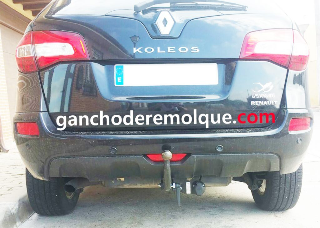 Renault koleos enganche extraible horizontal